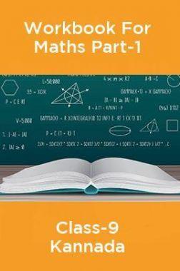 Workbook For Maths Part-1 Class-9 Kannada