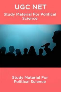 UGC NET Study Material For Political Science
