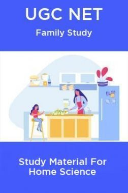 UGC NET Family Study Material For Home Science