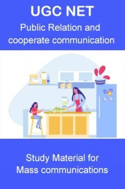UGC NET  Public Relation and Corporate Communication Study Material For Mass Communication