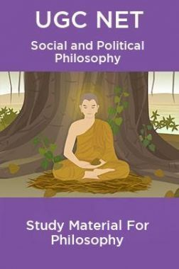 UGC NET  Social and Political Philosophy Study Material For Philosophy