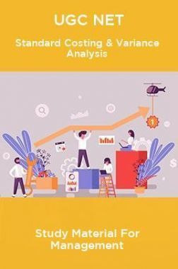 UGC NET Standard Costing & Variance Analysis Study Material For Management