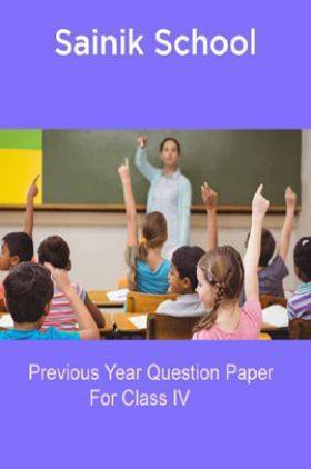 Sainik School Previous Year Questions With Answer For Class 6