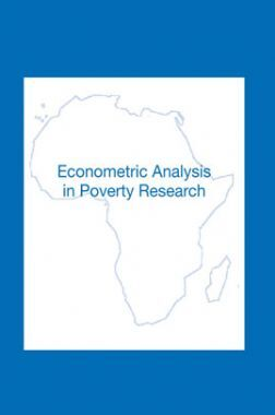 Econometric Analysis In Poverty Research