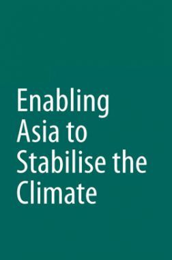 Enabling Asia To Stabilise The Climate