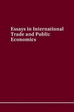 Essays In International Trade And Public Economics