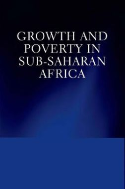 Growth And Poverty In Sub Saharan Africa