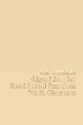 An Update Algorithm For Restricted Random Walk Clusters