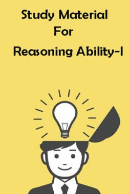 Study Material For Reasoning Ability - I