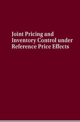 Joint Pricing And Inventory Control Under Reference Price Effects