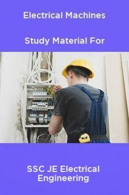 Electrical Machines Study Material For SSC JE Electrical Engineering