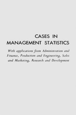 Cases In Management Statistics