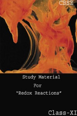 CBSE Study Material For Class-XI Redox Reactions (Chemistry)