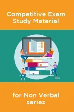 Competative Exam Study Materia  for Non Verbal series