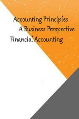 Accounting Principles A Business Perspective Financial Accounting