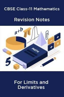 CBSE Class-11 Mathematics Revision Notes For Limits and Derivatives