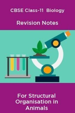 CBSE Class-11  Biology Revision Notes For Structural Organisation in Animals
