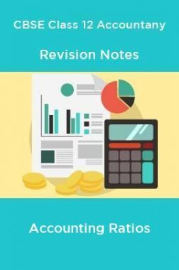 CBSE Class 12 Accountany Revision Notes Accounting Ratios