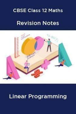 CBSE Class 12 Maths Revision Notes Linear Programming