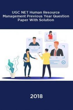 UGC NET Human Resource Management Previous Year Question Paper With Solution 2018