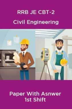 RRB JE CBT-2 Civil Engineering Paper With Asnwer 1st Shift
