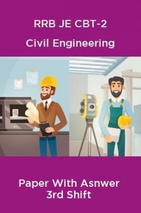 RRB JE CBT-2 Civil Engineering Paper With Asnwer 3rd Shift