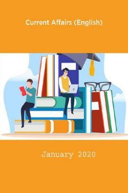 Current Affairs (English) January 2020