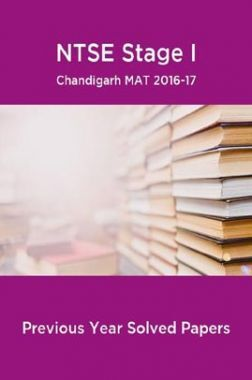 NTSE Stage I Chandigarh MAT 2016-17 (Solved Paper)