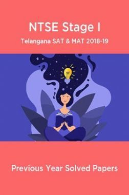 NTSE Stage I Telangana SAT & MAT 2018-19 (Solved Paper)