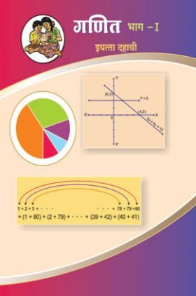 Maharashtra School Textbook Ganit Bhag-1 (Marathi) For Class-10