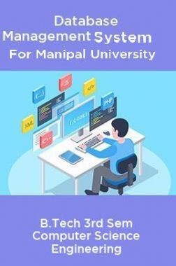 Database Management System For Manipal University B.Tech 3rd Sem Computer Science Engineering