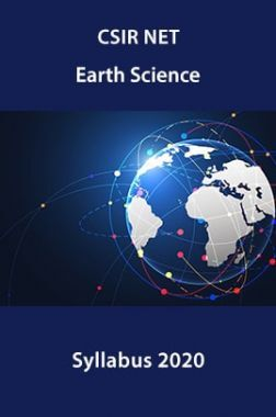 CSIR NET Earth Science  Syllabus 2020