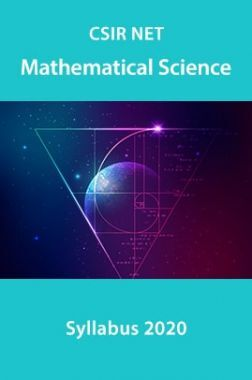 CSIR NET Mathematical Science Syllabus 2020