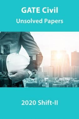 GATE Civil Unsolved Papers 2020 Shift-II