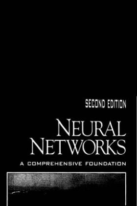 Neural Networks A Comprehensive Foundation Second Edition