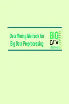 Data Mining Methods For Big Data Preprocessing