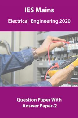 IES Mains Electrical  Engineering 2019 Question Paper With Answer Paper-2