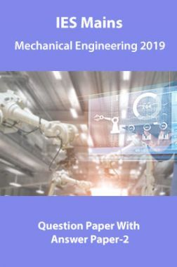 IES Mains Mechanical Engineering 2019 Question Paper With Answer Paper-2