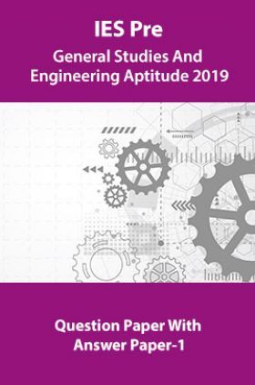 IES Pre General Studies And Engineering Aptitude 2019 Question Paper With Answer Paper-1