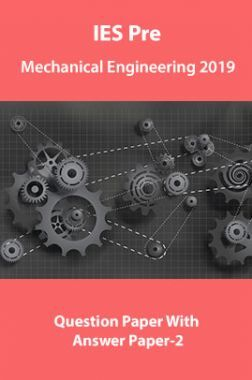 IES Pre Mechanical Engineering 2019 Question Paper With Answer Paper-2