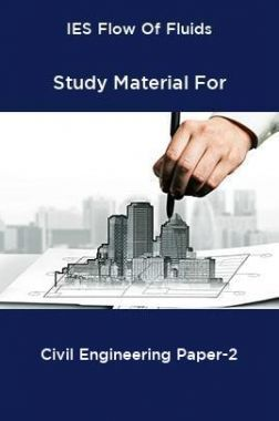 IES Flow Of Fluids Study Material For Civil Engineering Paper-2