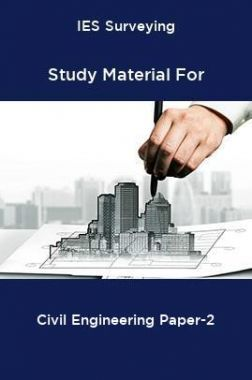 IES Surveying Study Material For Civil Engineering Paper-2