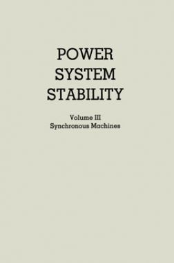 Power System Stability Synchronous Machines Volume-III