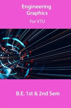 Engineering Graphics For VTU  B.E. 1st & 2nd Sem
