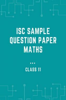 ISC Sample Question Paper Maths For Class-11