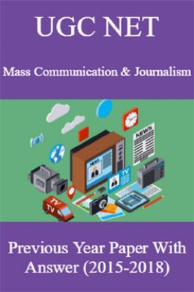 UGC NET Mass Communication & Journalism Previous Year Paper With Answer (2015-2018)