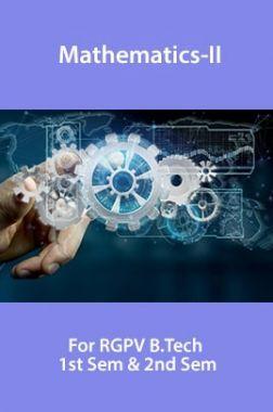 Mathematics-II For RGPV B.Tech 1st Sem & 2nd Sem