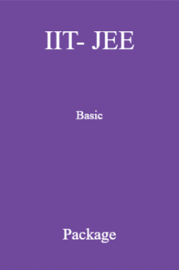 IIT- JEE Basic Package