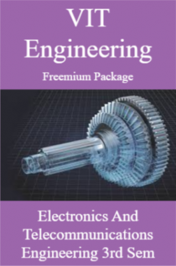VIT Engineering Freemium Package Electronics and Telecommunications Engineering 3rd Sem