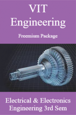 VIT Engineering Freemium Package Electrical and Electronics Engineering 3rd Sem